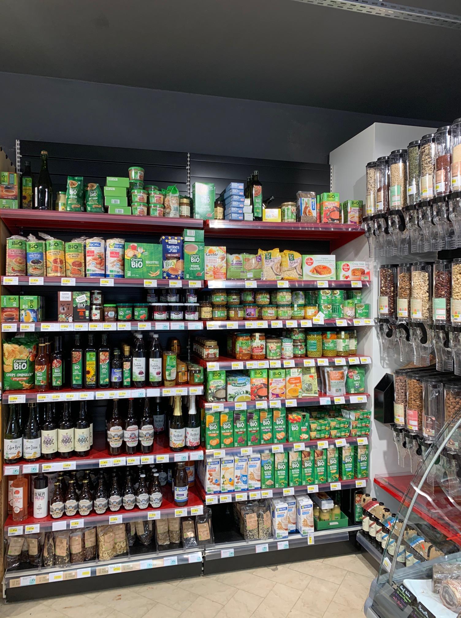 rayon bio, sans gluten, minceur spar valcenis lanslevillard